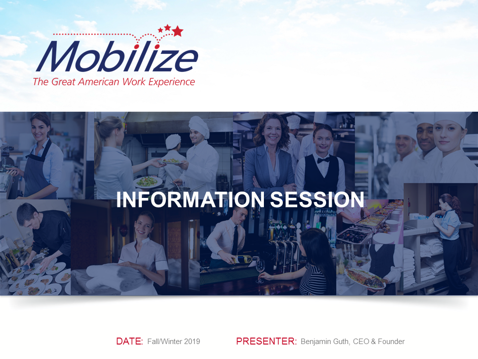 USA Mobilize Candidate Info Session - September 2019